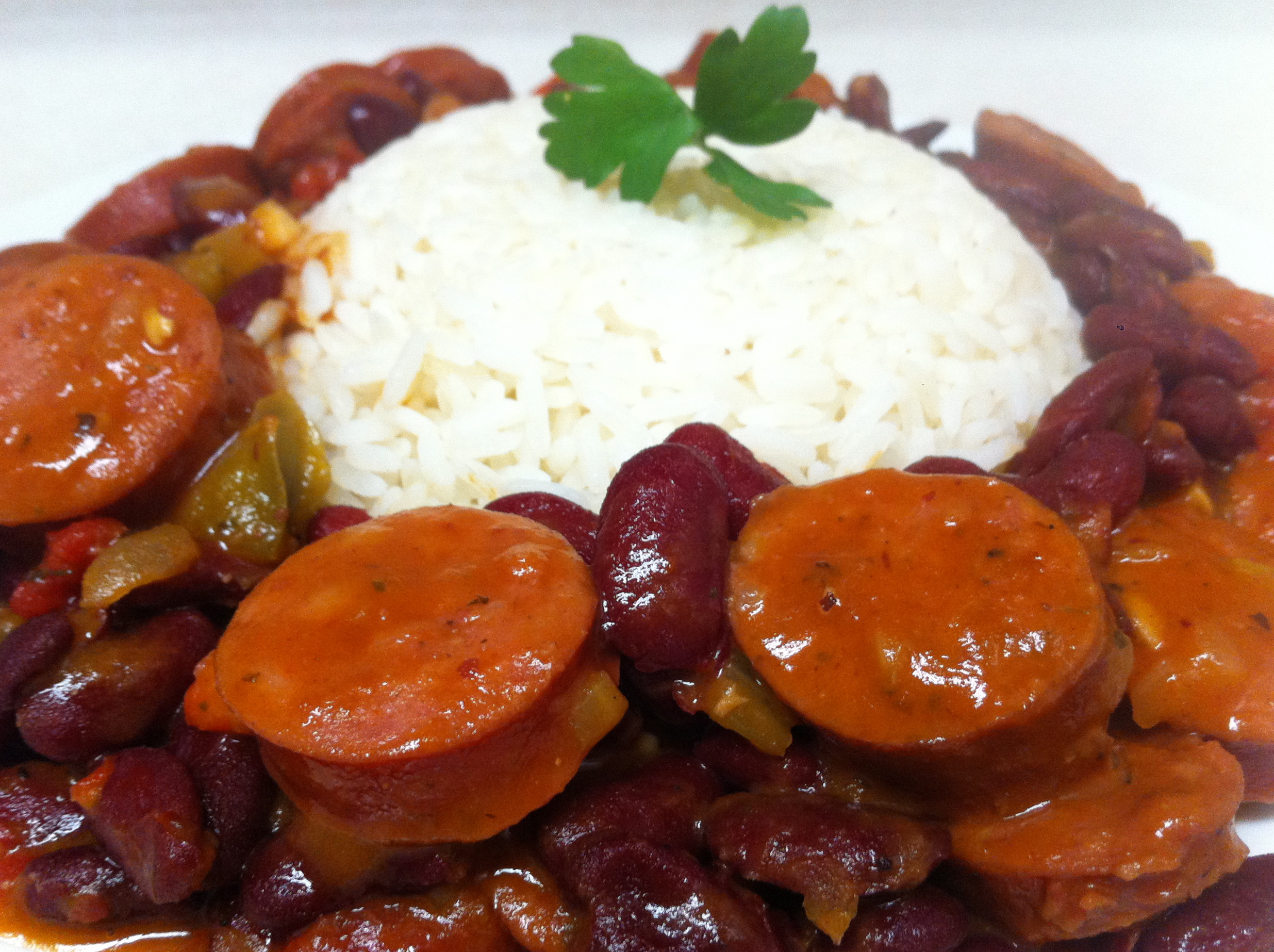Red Beans With Andouille Sausage Recipes — Dishmaps