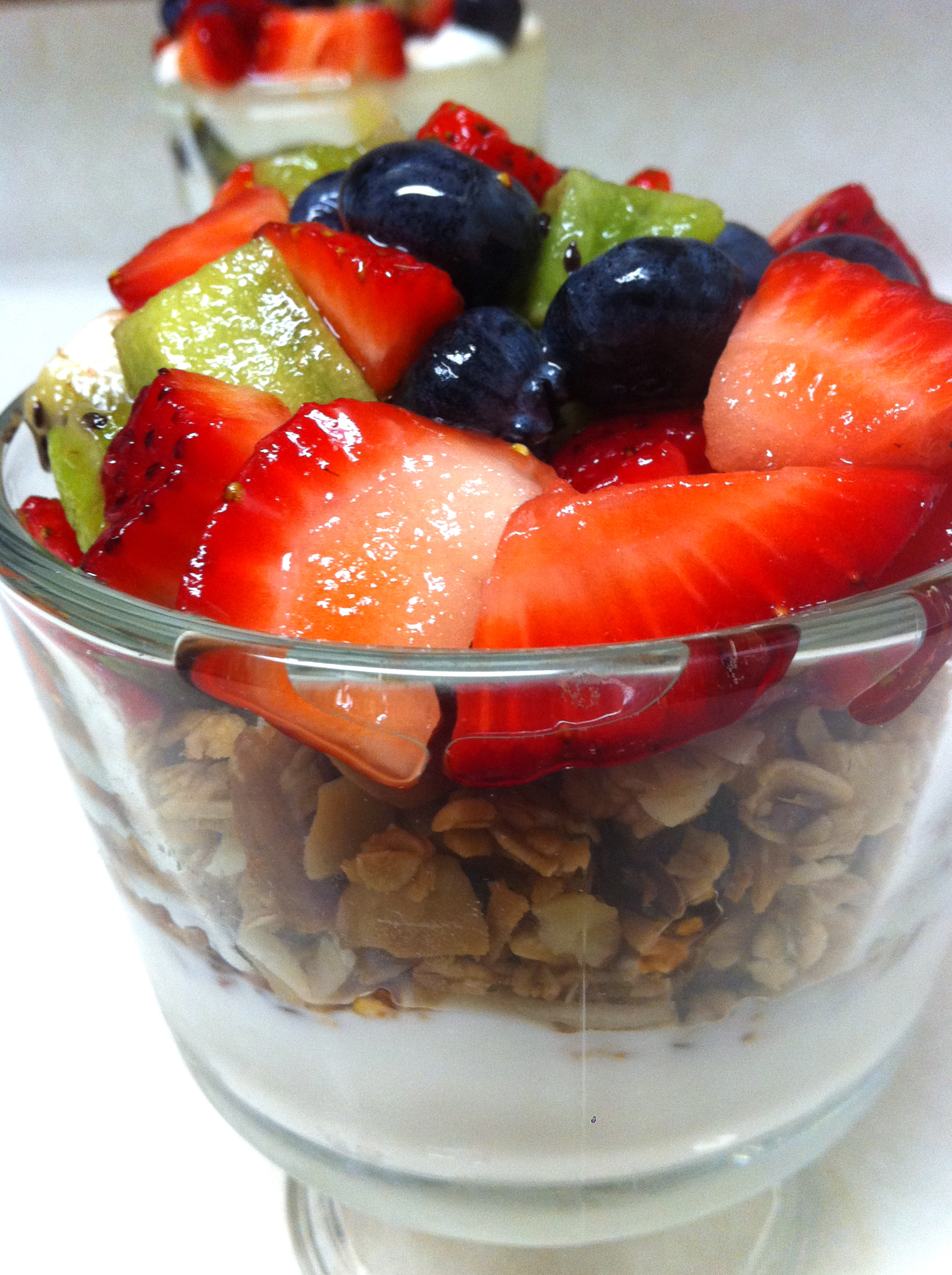 Easy Granola, Fruit and Yogurt Parfaits | IamSimplyTia