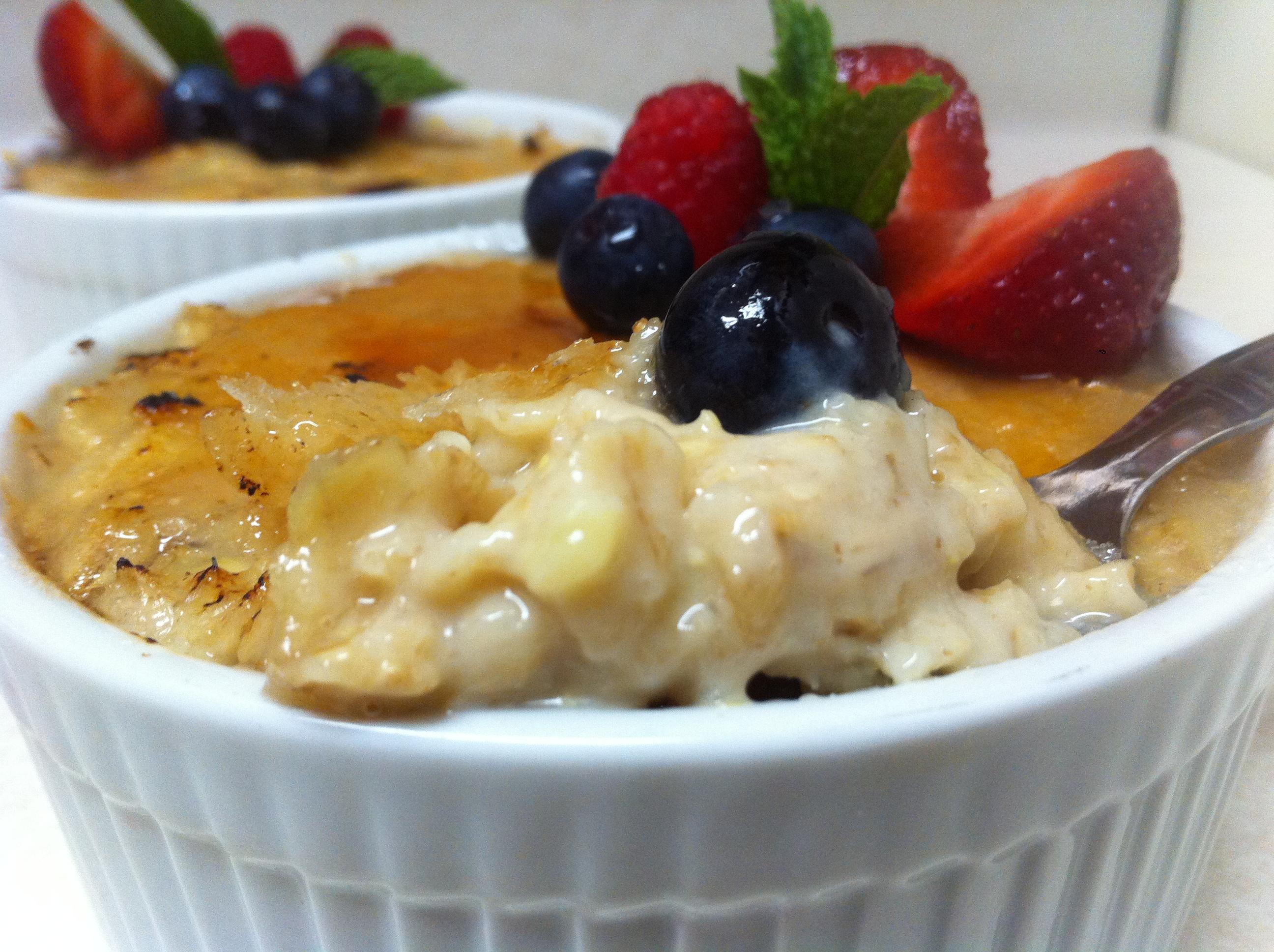 Creme Brulee Oatmeal Recipes — Dishmaps
